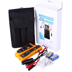 Underground Wire Circuit Network Cable Locator Tracker Detector Lan W Earphone