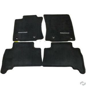 New For Toyota 4runner 2013 2017 Carpet Floor Mats Black Stp3 Genuine