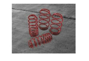 Front Rear Red Trd Lowering Springs Genuine For Toyota Carolla Matrix 09 13