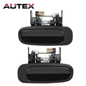 2 For 1998 2002 Toyota Corolla Exterior Outer Rear Left Right Side Door Handle