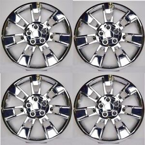 New 2014 2016 Toyota Corolla 16 Chrome Hubcaps Wheelcover Set Of 4