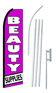Beauty Supplies 15 Complete Swooper Flag Starter Kit Bow Feather