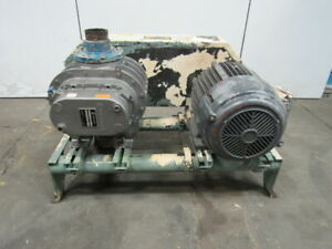 Gardner Denver Gagmdpa 7mp 40hp Positive Displacement Blower Package