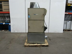 Dce Vokes 2hp Unimaster Dust Collection Unit Dust Collector 230 460v 3 Phase
