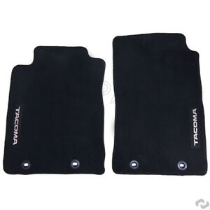 For Dark Charcoal Carpet Floor Mats Genuine Pt2063512015 For Toyota Tacoma 12 15