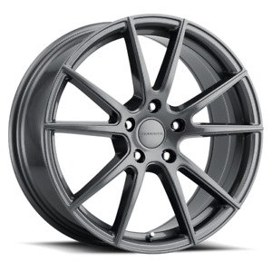 Set 4 16x7 40 5x114 3 5x4 5 Shift Gunmetal Wheels Rims 16 Inch 59145