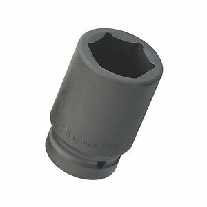 Chrome Molybdenum 1 Driver 6 point Metric Deep Impact Socket 55 56 58 60mm