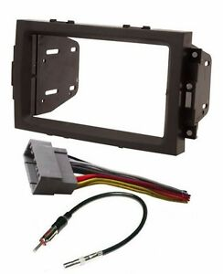 Double Din Dash Radio Stereo Install Kit Wire Harness Fits Chrysler Dodge Jeep