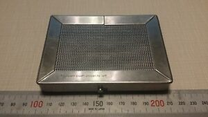 Unbranded Sterilization Cassette Stainless Tattoo Medical Instrument Case Lab Md