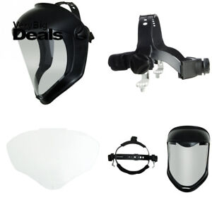 Uvex Bionic Face Shield With Clear Polycarbonate Visor s8500
