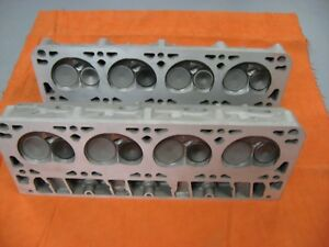 Small Block Chevy Ls1 Ls2 Ls6 Heads Pair 706 Aluminum Ready To Go