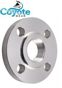 3 Npt Ss 316 Psi 150 Raised Face Threaded Flange Stainless Steel Coyote Gear