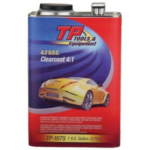 Tp Tools 4 1 Urethane Clearcoat Clear Gallon tp 1075