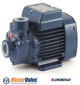 Pedrollo Pump Water Distribution Irrigation Pk 60 230 460v 60 Hz 0 5 Hp 1 x1