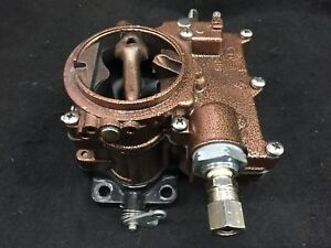 Vintage Speed Rochester 2g Secondary Carb In Copper Vein Tri Power Hot Rod