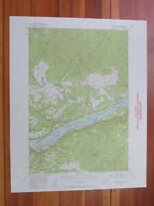 Bridal Veil Oregon 1958 Original Vintage Usgs Topo Map