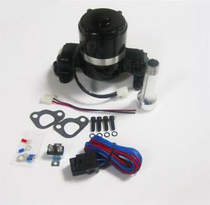 Small Block Ford Electric Water Pump High Volume Black 289 302 Sbf Relay Kit