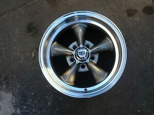 4 15x7s Or 8s Gray New Rev Classic Rally Wheels For Chevy 4 75 Bolt Pattern