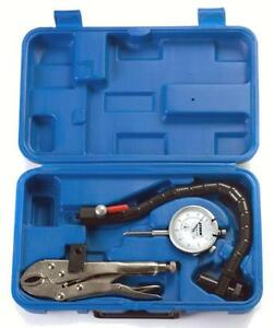 Central Tools Storm Rotor ball Joint Run out Dial Indicator Gauge Set 3d103