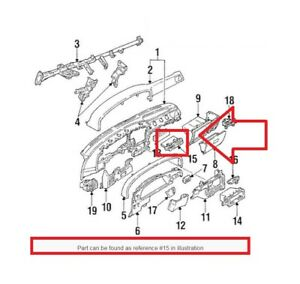 For Cup Holder Genuine 5562089101 For Oem Toyota Pick Up Truck 1989 1995