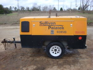 2008 Sullivan Palatek 185 Air Compressor