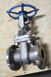 New Cf Fluid Controls Gate Valve 2 Class 150 Cf8m Trim 316