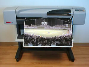 Hp Designjet 500 42 Inkjet Printer Plotter With New Ink And Printheads