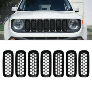 Exterior Accessories Part Grill Mesh Grille Insert Guard Cover For Jeep Renegade