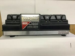 Waring Wsk800 Commercial Three station Knife Sharpener New In Box Closeout
