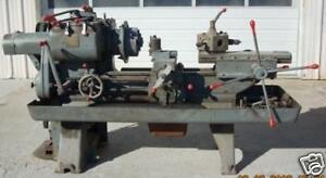 Warner Swasey Turret Lathe Model M 842 No 8