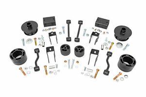 Rough Country 2 5 Lift Kit Fits 2018 2020 Jeep Wrangler Jl Spacer Kit