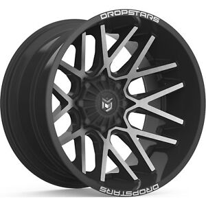 22x10 Black Machined 654mb 6x135 6x5 5 25 Wheels Country Hunter Mt 33 Tires