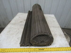 Cambridge Pactite 50ss 50 Chain Drive Wire Mesh Conveyor Belt 15 X 48