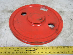 Crosby Mckissick 2036394 18 Tb 18 Wire Rope Roll Forged Sheave 2 3 4 Bore