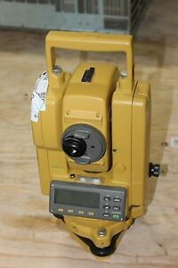 Topcon Gts 203 Construction Total Station