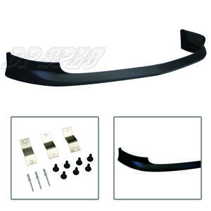 For 02 04 Acura Rsx T A Spec Front Bumper Lip Body Kit Spoiler Poly Urethane Pu