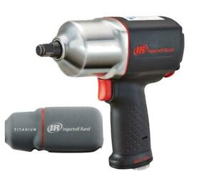 Ingersoll Rand 2135qxpa 1 2 Quiet Impact Wrench W Boot And 10pc Socket Set