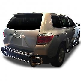 Rear Bumper Guard Stainless Steel Rdto 732 51 For Toyota Highlander 2008 2013