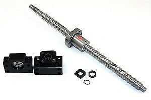 61 Inch Travel Stroke 20mm With 10mm Pitch Anit backlash Ballscrew Set With Nut
