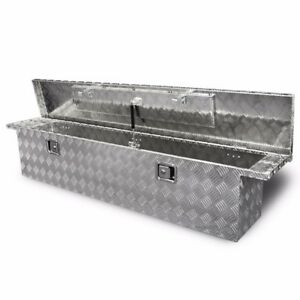 71 Aluminum Crossover Crossbed Truck Box Pickup Tool Box Trailer Storage Tool