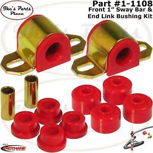 Prothane 1 1108 Front 1 Sway Bar End Link Bushing Kit For 84 01 Jeep 2 4 Wd