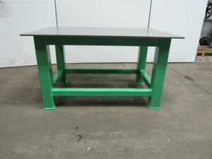 H d 1 2 Thick Top Steel Fabrication Layout Welding Table Work Bench 60 X 40