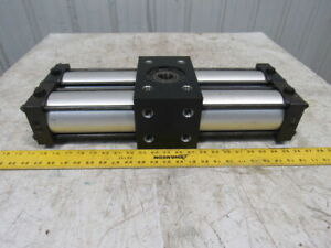 180 Rotation Hydraulic Pneumatic Rotary Actuator 1 1 4 Shaft