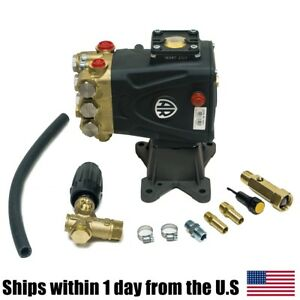 4000 Psi Rrv4g40d f24 Ar Power Pressure Washer Water Pump Vrt3 Unloader