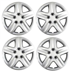 New 2010 2011 2012 Ford Fusion 17 Silver Hubcap Wheelcover Set Of 4