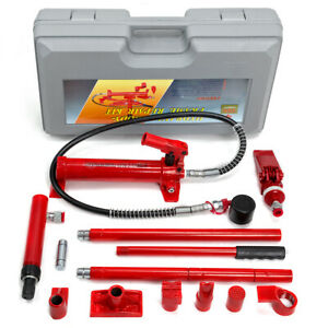 4 Ton Porta Power 4 Ton Body Frame Repair Kit Hydraulic Spreader Ram 4t Force Hd