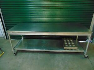 Bakery Table Stainless Steel Bakery Table Poly Board Table