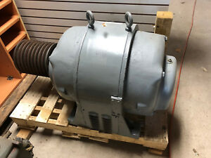 60 Hp Howell Electric Induction Motor Recent Rebuild