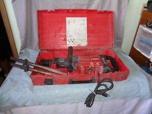 Hilti Te 905 avr Heavy Duty Demolition Drill Jack Hammer Breaker W case