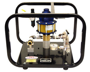 Wheeler rex 32450 Pneumatic Hydrostatic Test Pump 10 000psi